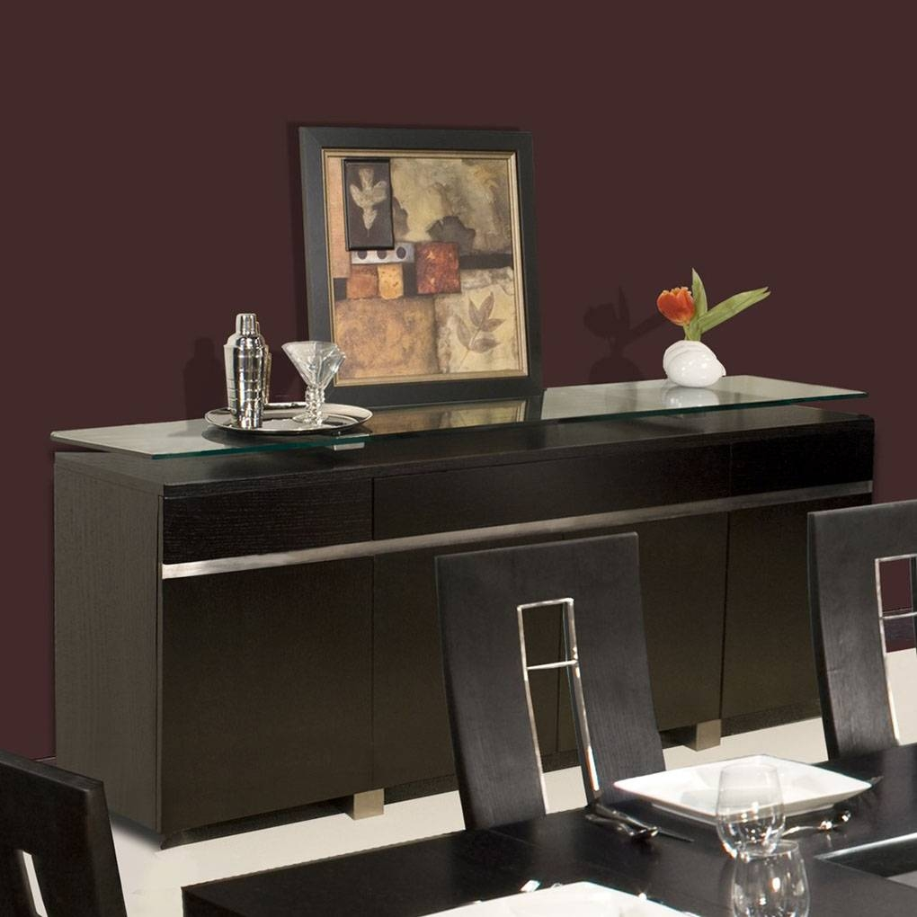 Novo Sideboard  Wenge | Sideboards And Servers With Regard To Wenge Sideboards (Photo 1 of 15)