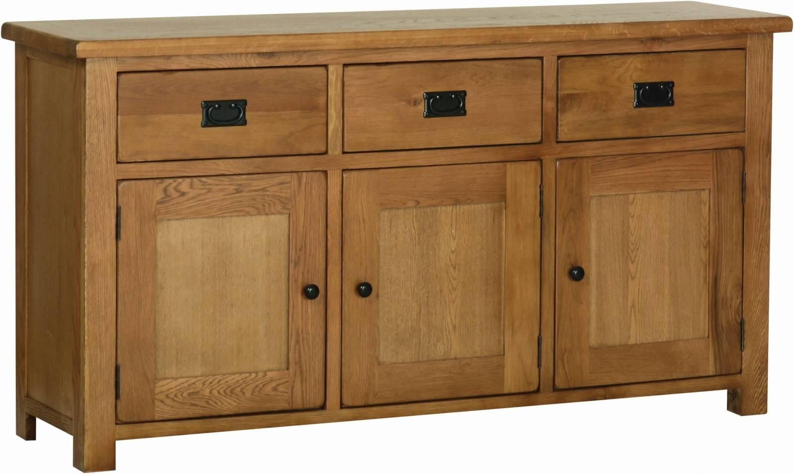 Oak Large Sideboard - Solid Wood & Painted Made To Measure regarding Rustic Oak Large Sideboards (Image 12 of 15)