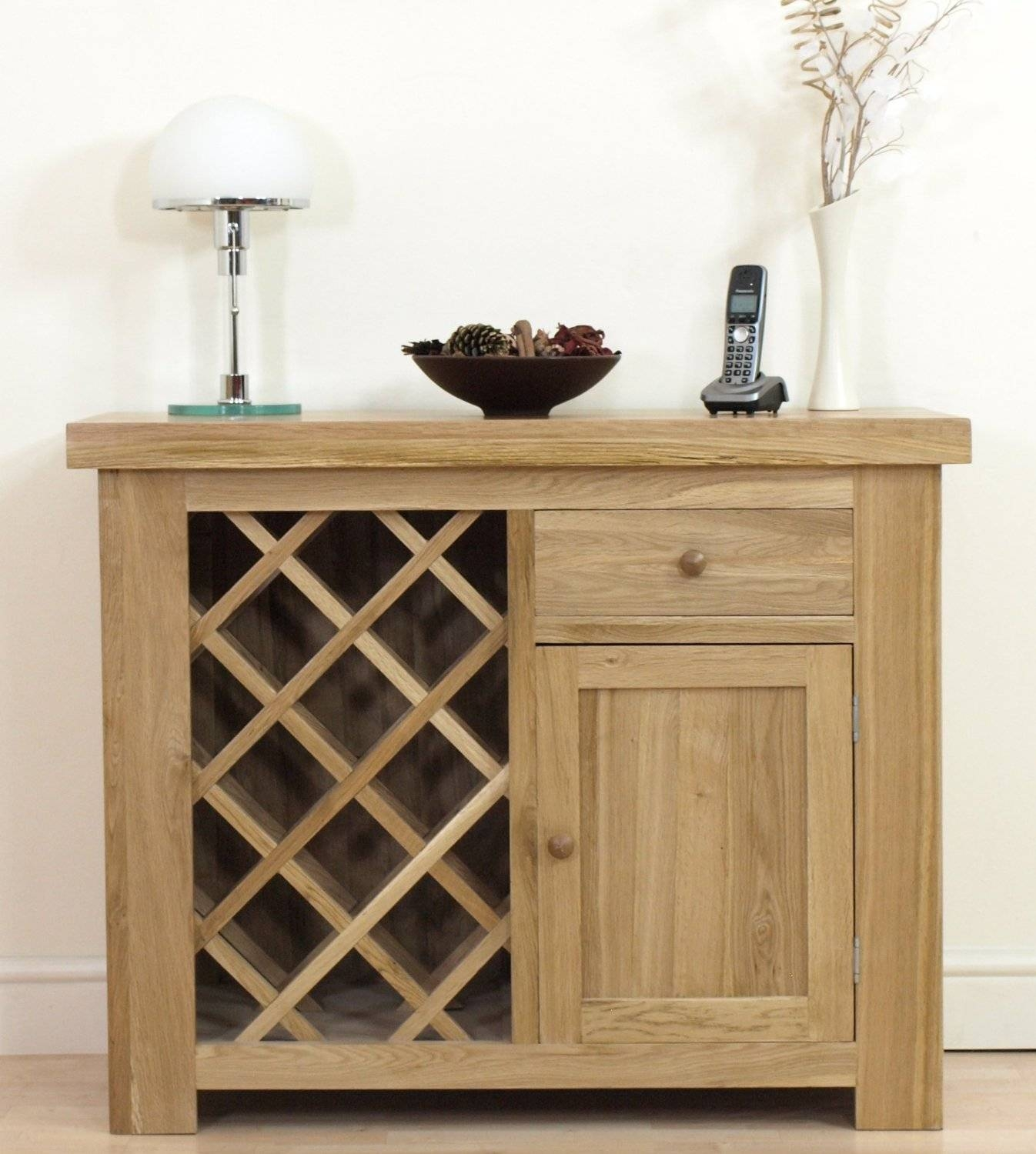 Oak Sideboard With Wine Rack | Home Design Ideas intended for Sideboards With Wine Rack (Image 9 of 15)
