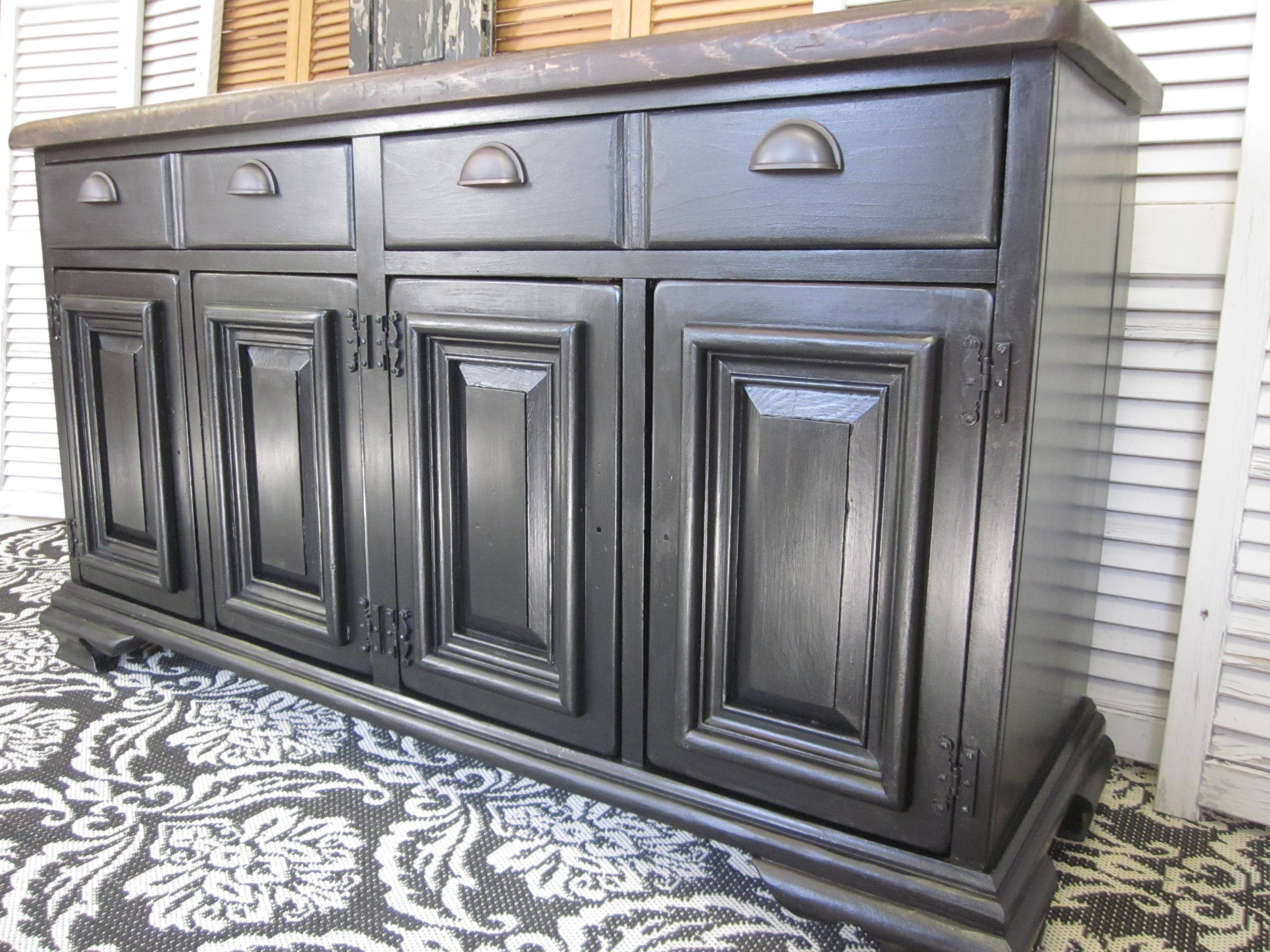 Old World Pottery Barn & Arhaus - Inspired Sideboard | Entri Ways inside Pottery Barn Sideboards (Image 3 of 15)