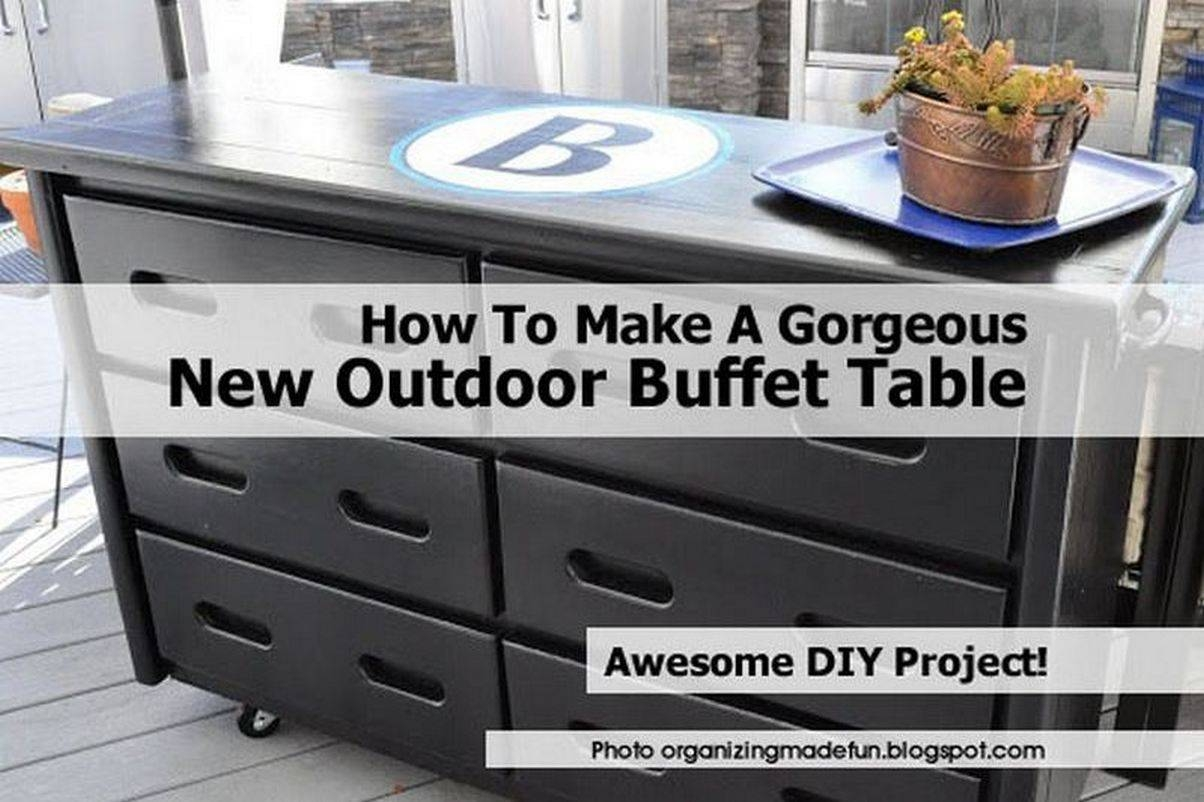 Outdoor Buffet2 Organizingmadefun Blogspot Com With Outdoor Sideboard Tables (View 13 of 15)