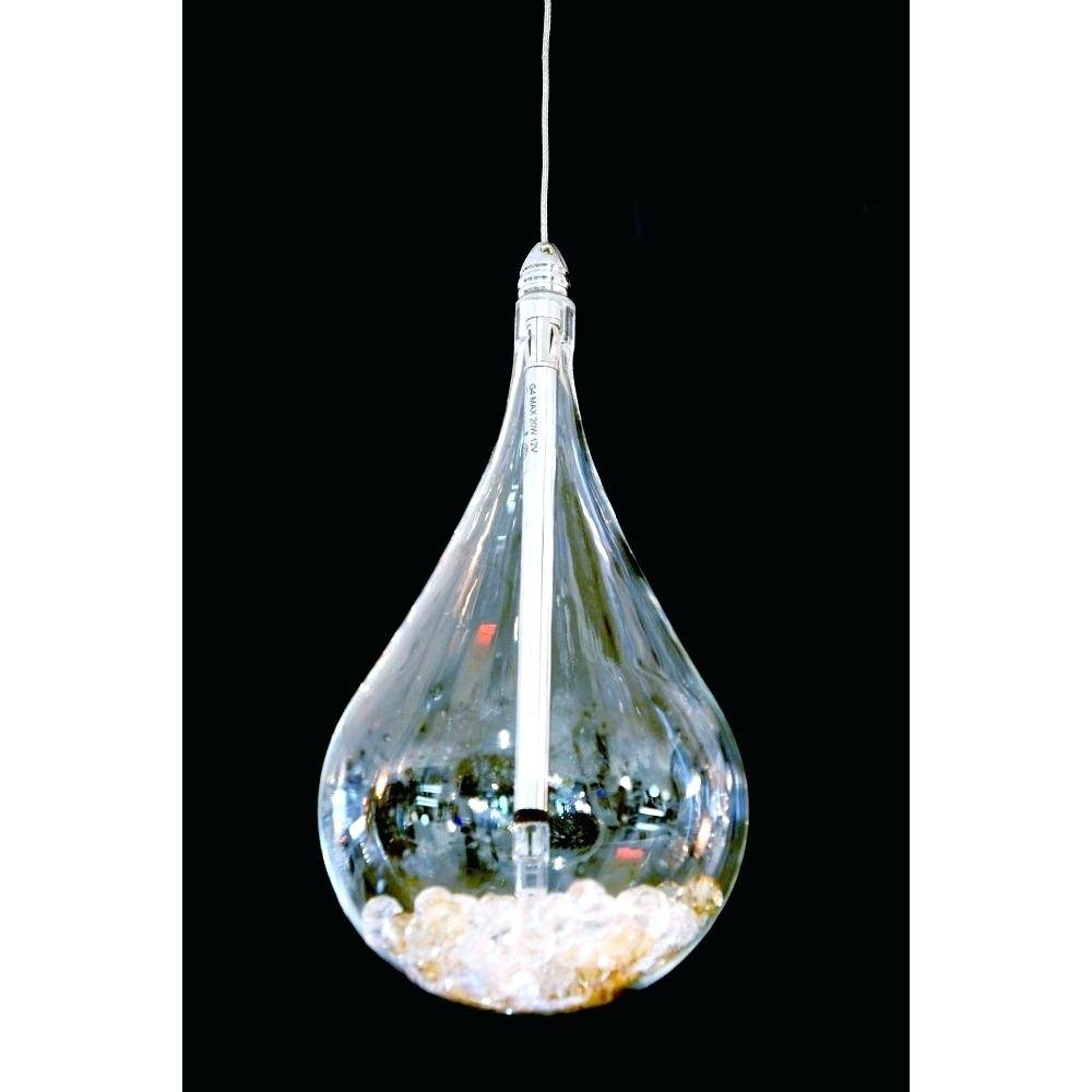 Pendant Light : Teardrop Pendant Light Product Image Lights inside Crystal Teardrop Pendant Lights (Image 11 of 15)