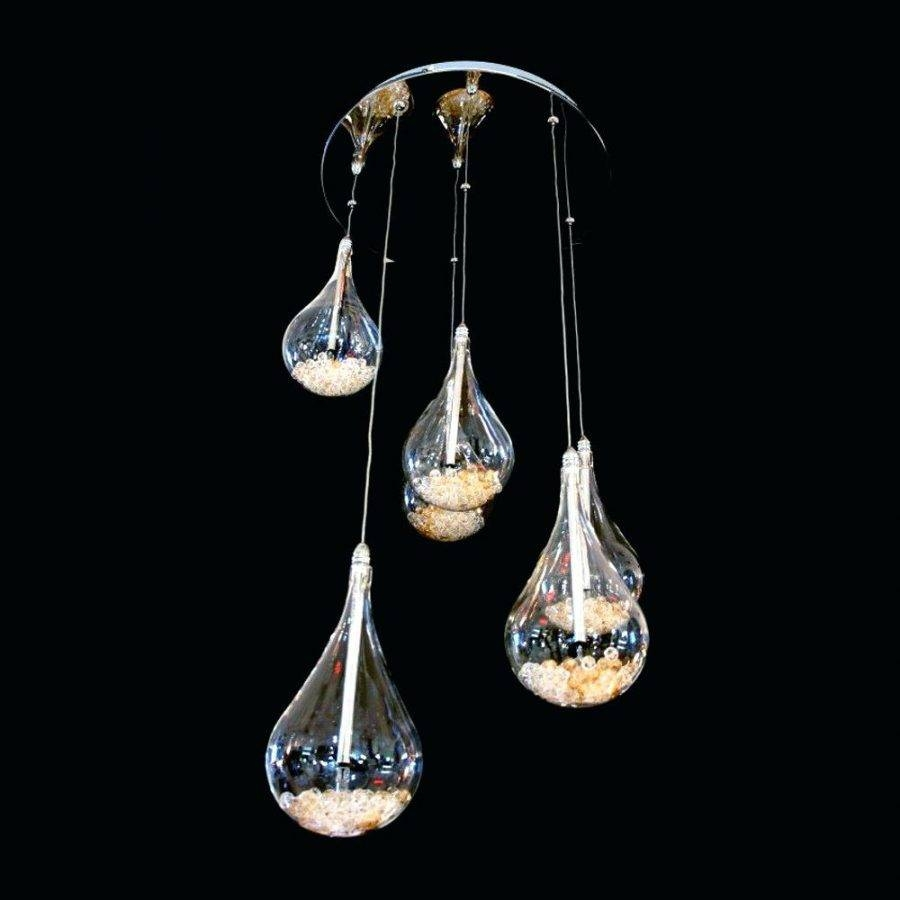 Pendant Light: Teardrop Pendant Light. Teardrop Pendant Light inside Crystal Teardrop Pendant Lights (Image 12 of 15)