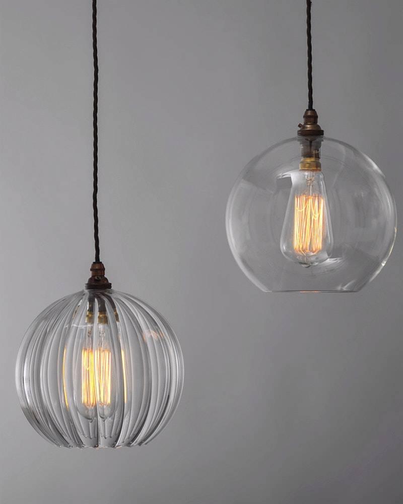 Pendant Lights : Best Glass Ball Light Fixture In The Box Au Within Glass Ball Pendant Lights (View 5 of 15)