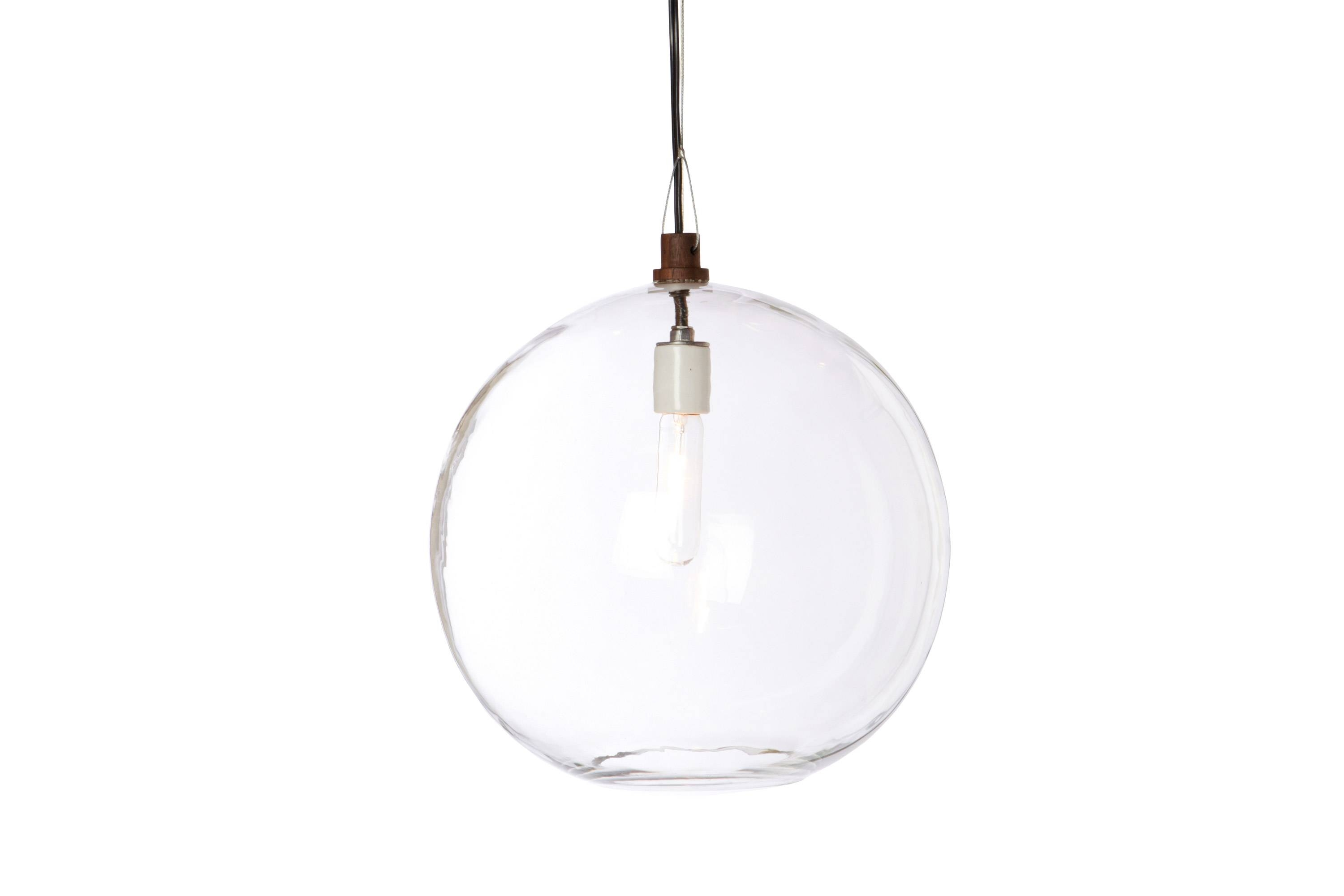 Pendant with Clear Globe Pendant Lights (Image 12 of 15)