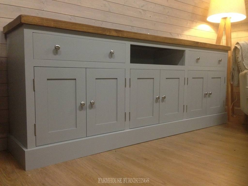 Pine Sideboard, Plank Top Sideboards, Farmhouse Furnishings In Pine Sideboards (View 10 of 15)
