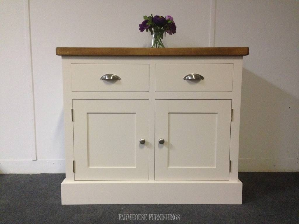 Plank Top Sideboards, Shabby Chic Sideboards, Farmhouse Furnishings Within Pine Sideboards (View 4 of 15)