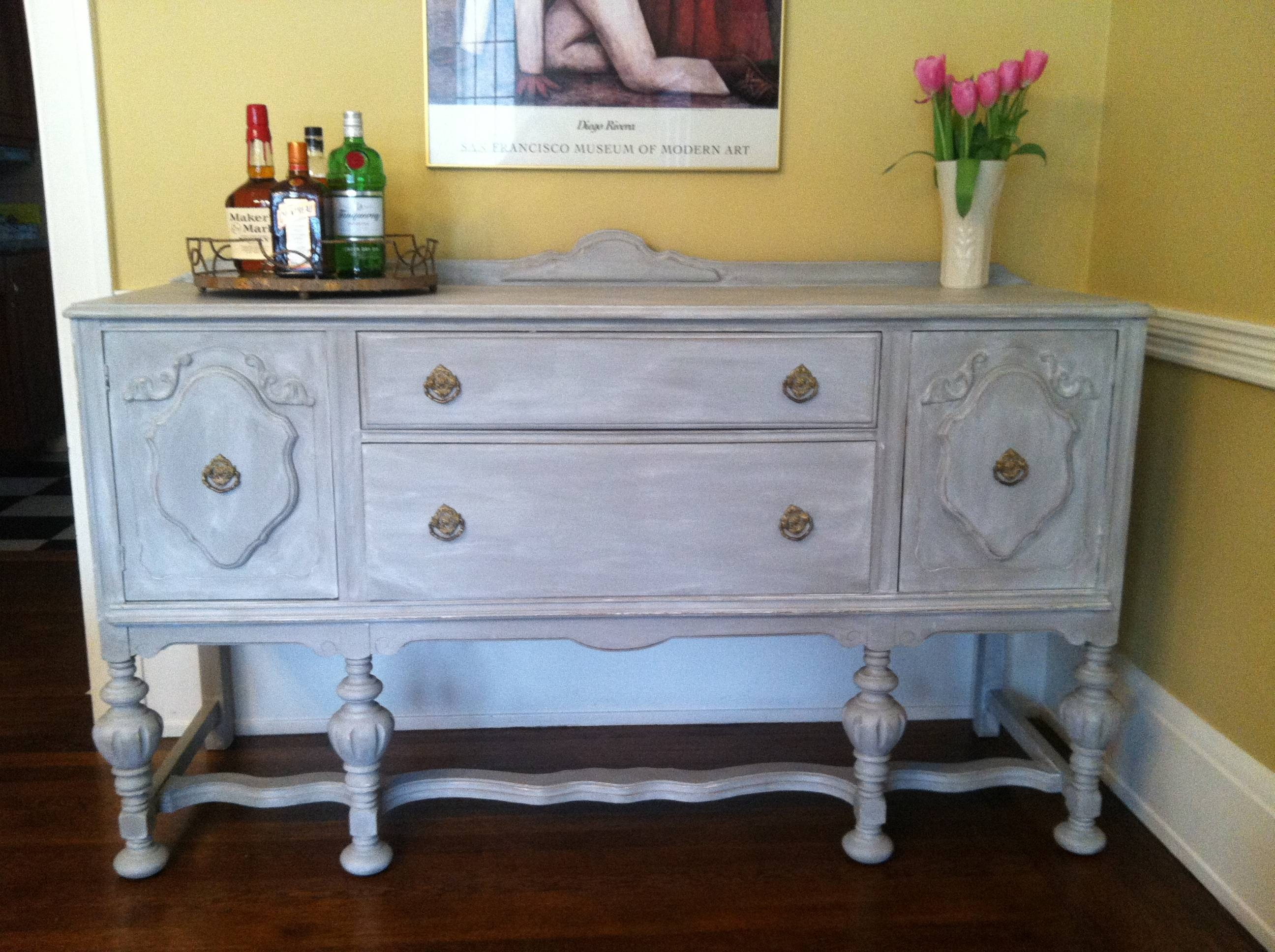 Project File: Adventures In Annie Sloan Chalk Paint | Sharon Holbrook Within Annie Sloan Painted Sideboards (View 15 of 15)
