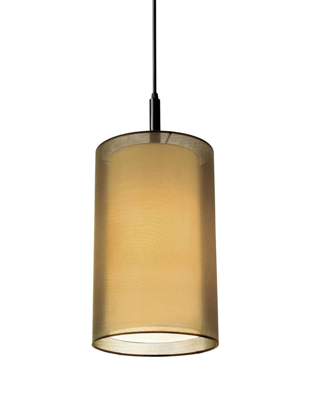 "Puri 8"" Cylinder Pendant Lightsonneman | Interior-Deluxe with regard to Cylinder Pendant Lights (Image 11 of 15)"