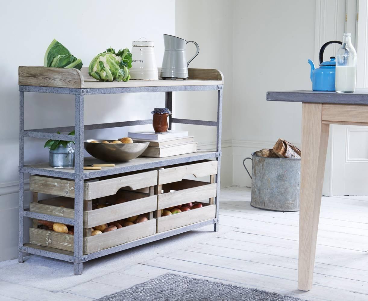 Rackety Sideboard | Industrial Kitchen Sideboard | Loaf Regarding Kitchen Sideboards (View 5 of 15)