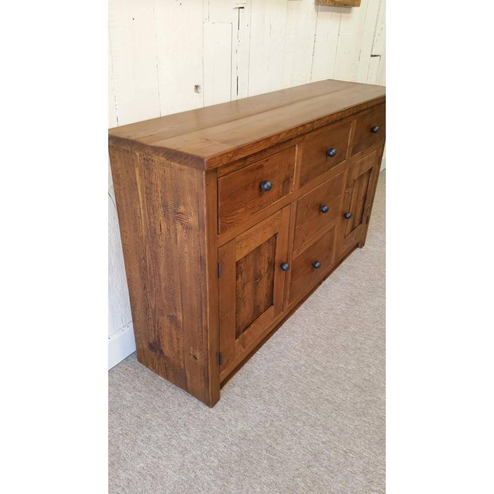 Reclaimed Wood Sideboard for Reclaimed Wood Sideboards (Image 10 of 15)