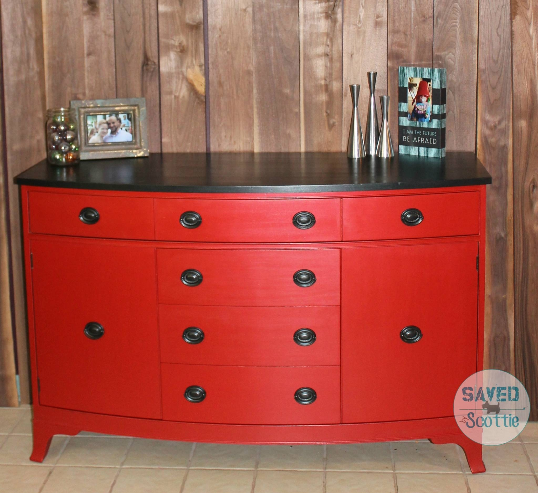 Red Buffet - Savedscottie inside Red Sideboards Buffets (Image 6 of 15)