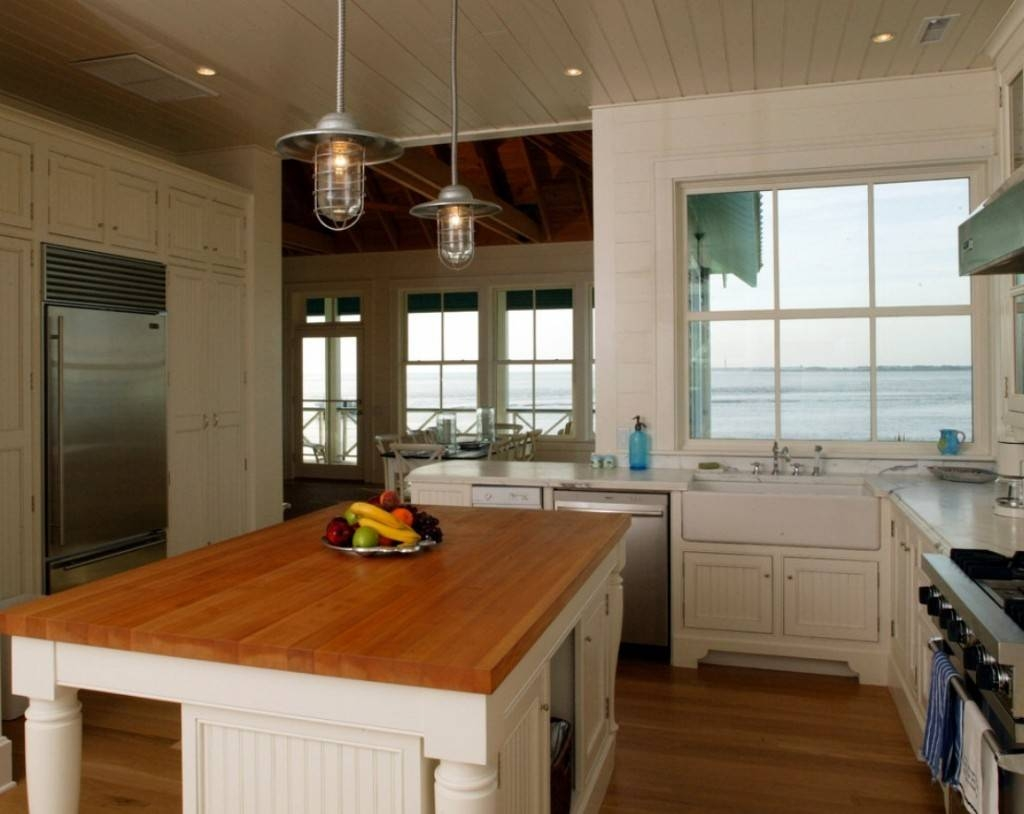Rustic Pendants For A Coastal North Carolina Beach House   Blog Intended For Beach House Pendant Lighting (View 5 of 15)