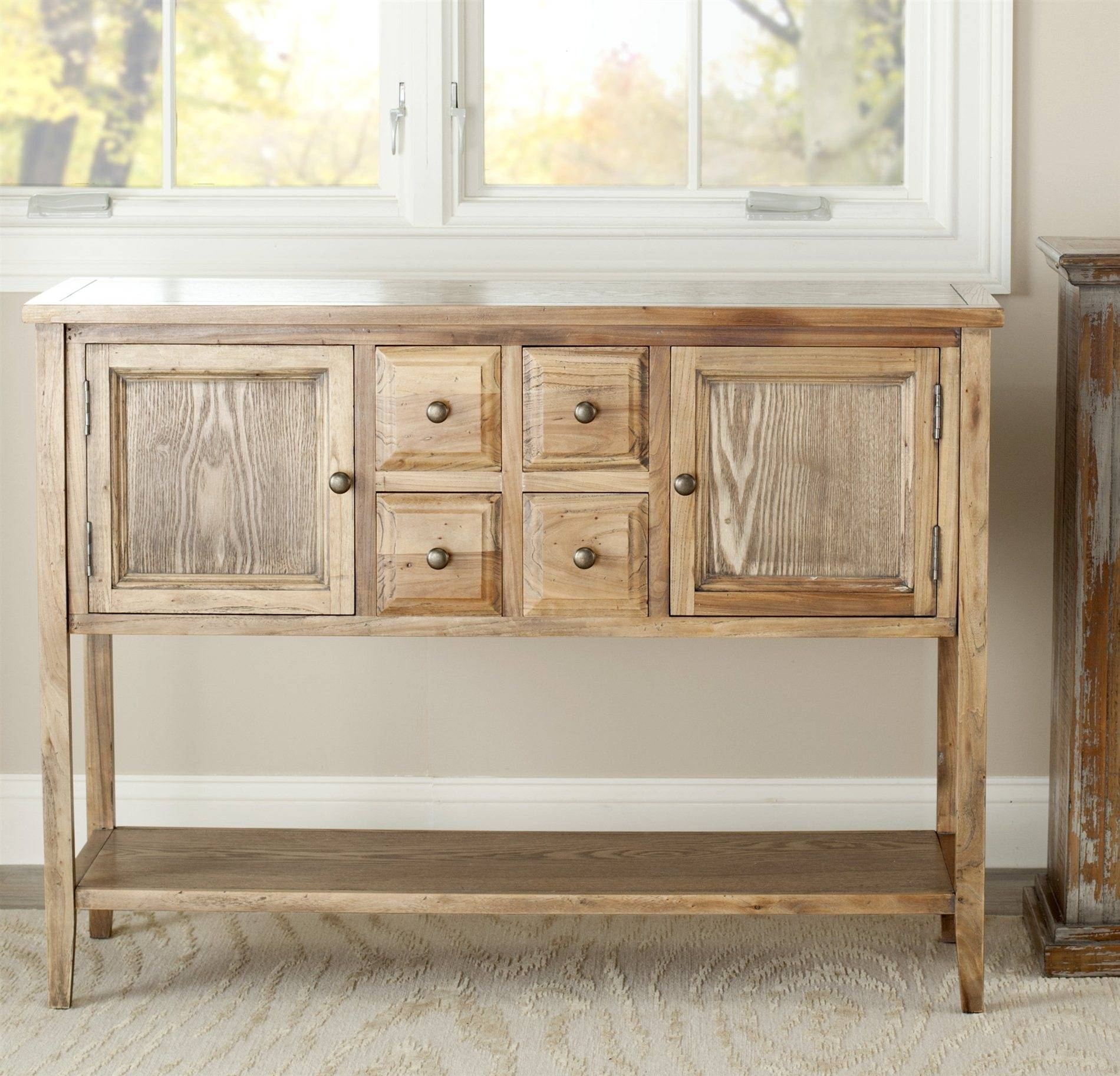 Safavieh Amh6517a Charlotte Sideboard Sfv Amh6517a Intended For Safavieh Sideboards (View 4 of 15)