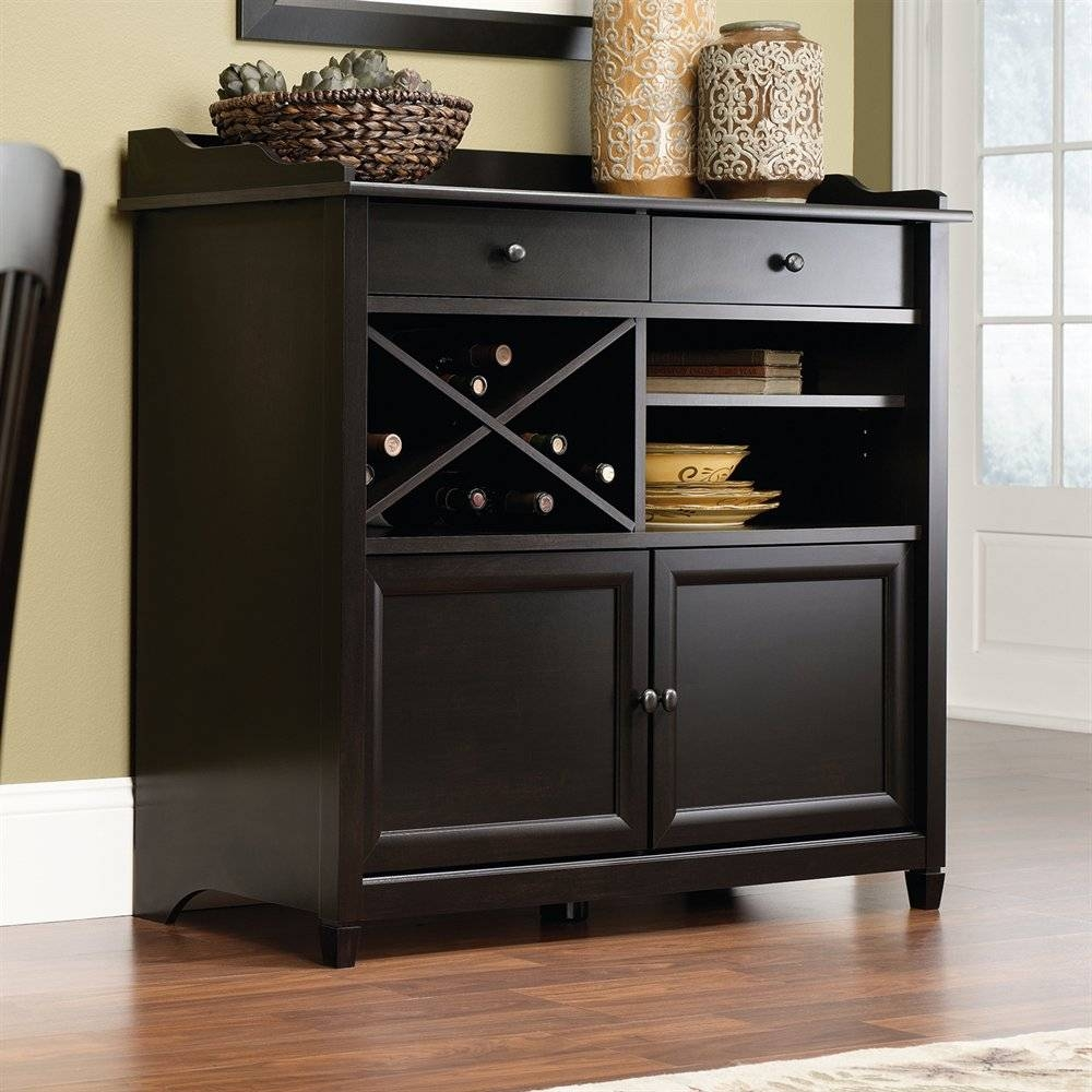 Sauder Sideboard | Lowe's Canada Regarding Sideboards And Servers (View 12 of 15)