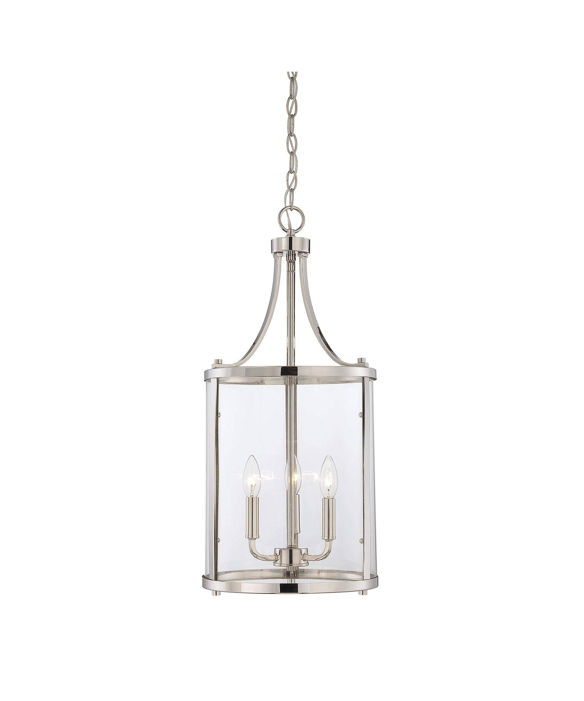 Savoy House 7 1040 3 Penrose 12 Inch Wide Foyer Pendant | Capitol With Regard To Foyer Pendant Light Fixtures (View 4 of 15)