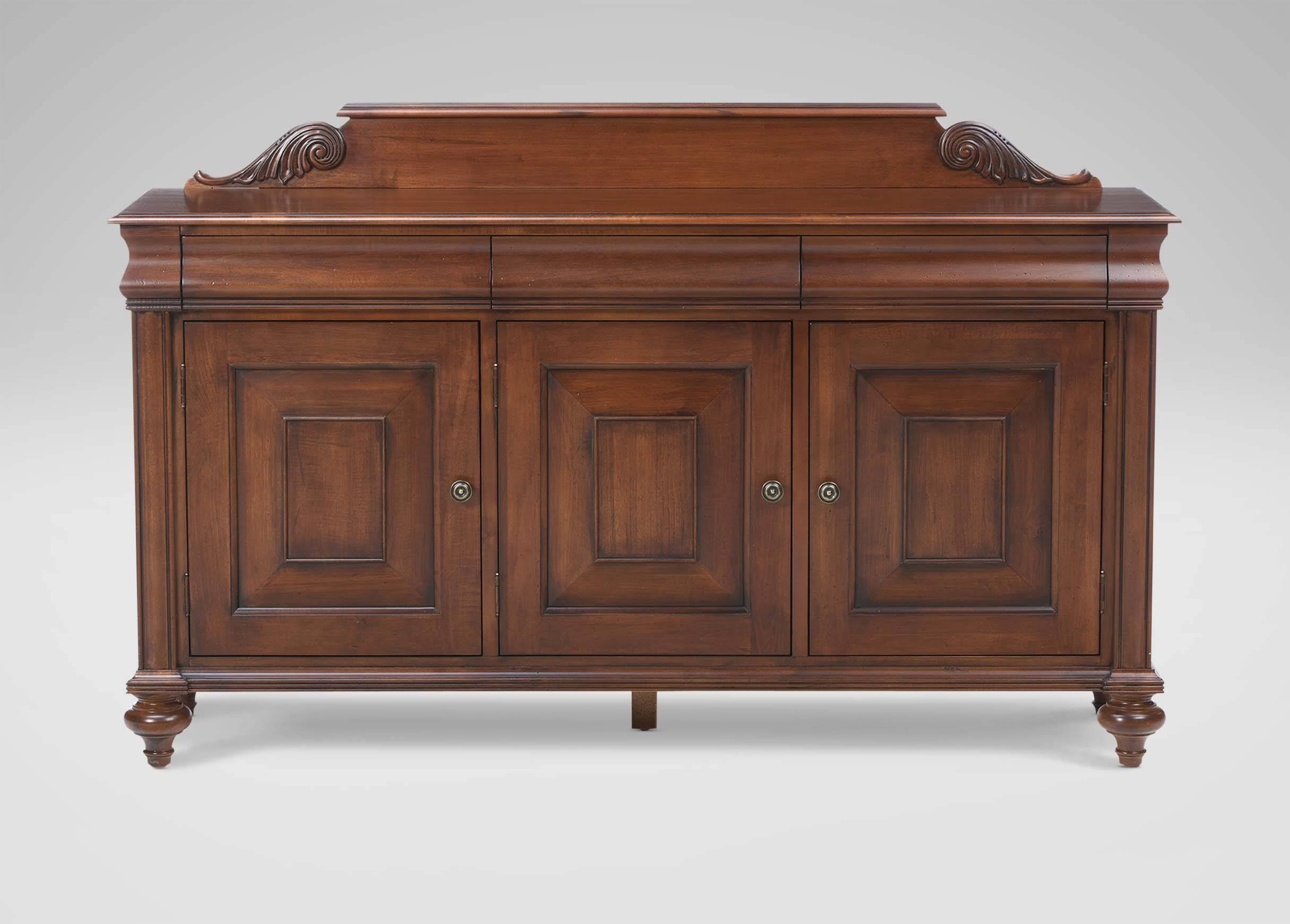 Saxton Buffet | Buffets, Sideboards & Servers throughout Ethan Allen Sideboards (Image 6 of 15)