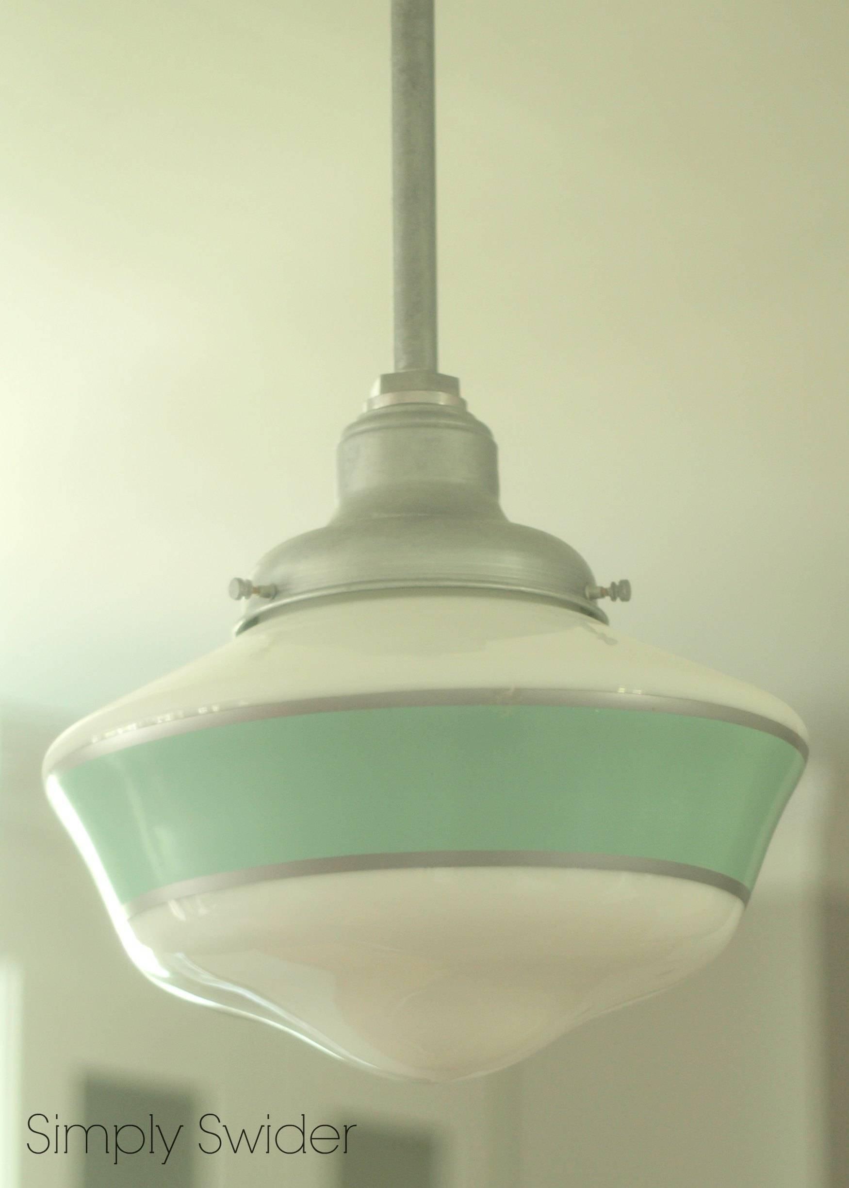 Schoolhouse Pendant Light For Kitchen Island | Simply Swider in Schoolhouse Pendant Lighting (Image 14 of 15)