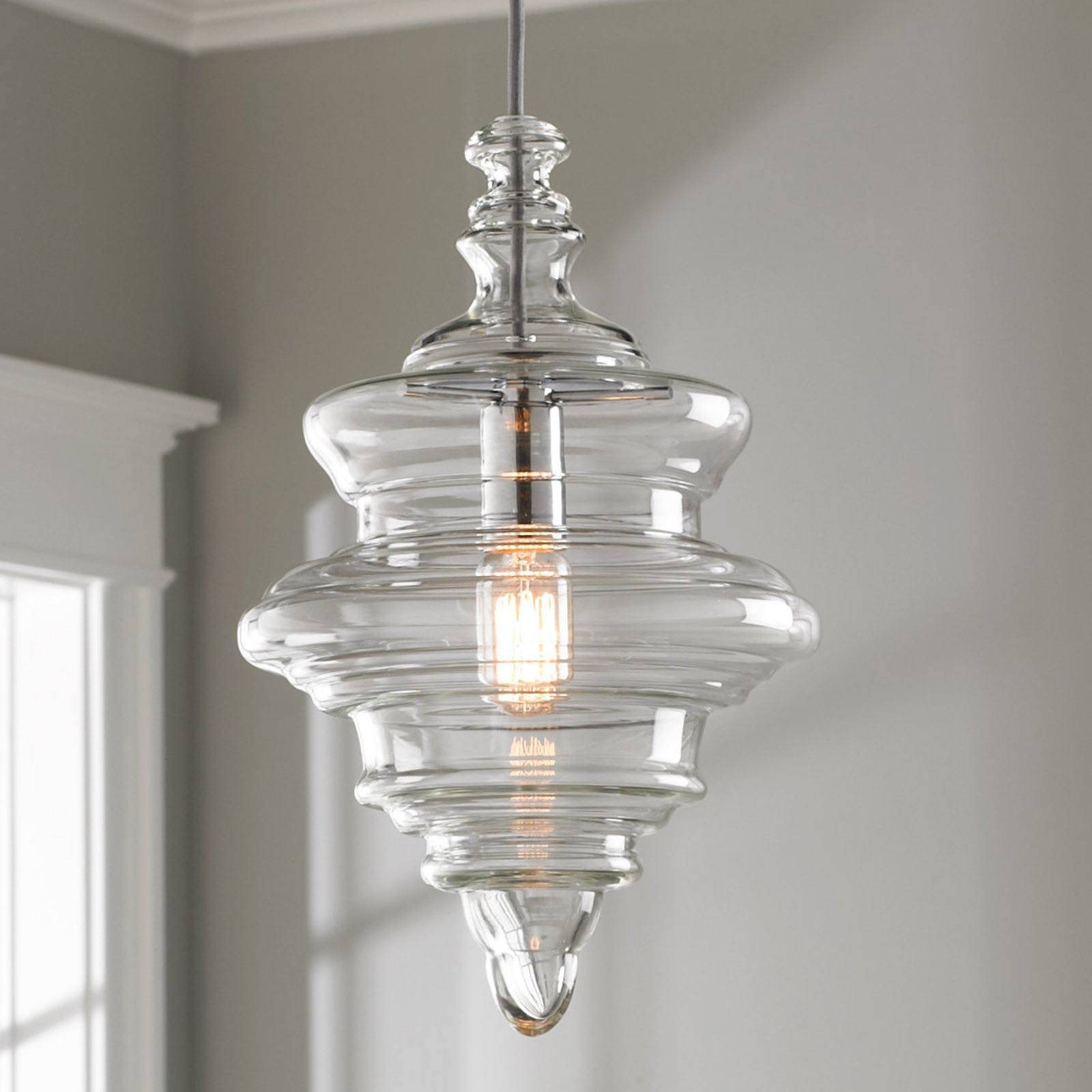 Sea Glass Pendant Lights As Well Of Paxton Hand Blown Light In The for Sea Glass Pendant Lights (Image 13 of 15)