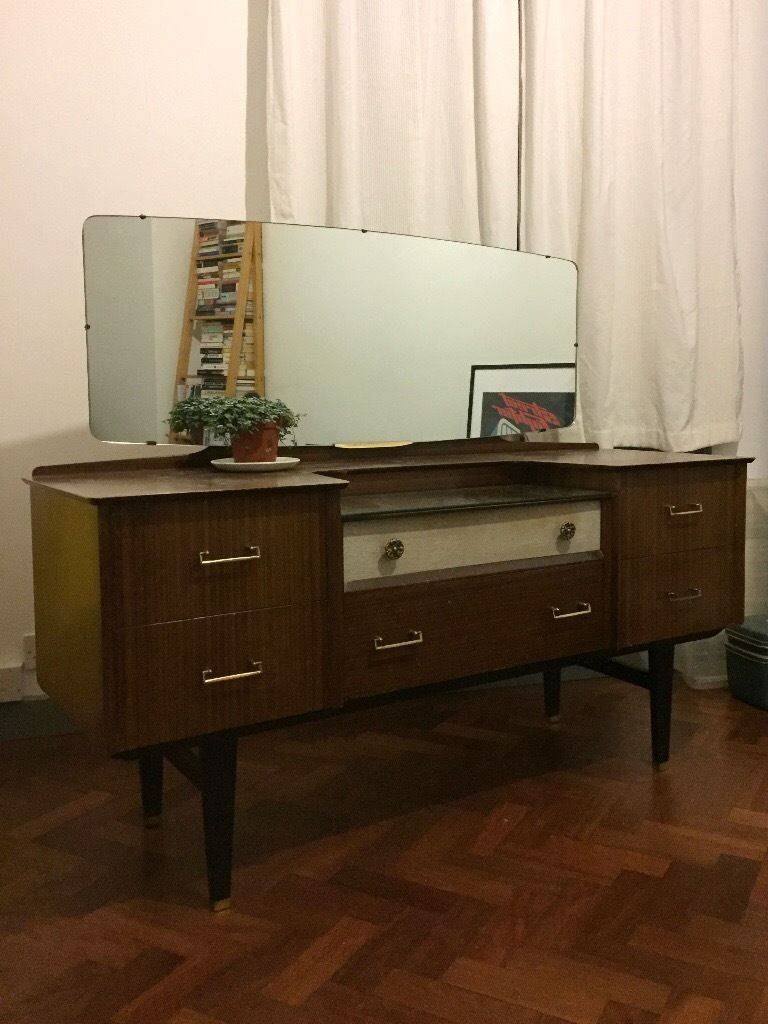 Sideboard: Amazing 50S Sideboard Furniture Credenzas For Sale within 50S Sideboards (Image 12 of 15)