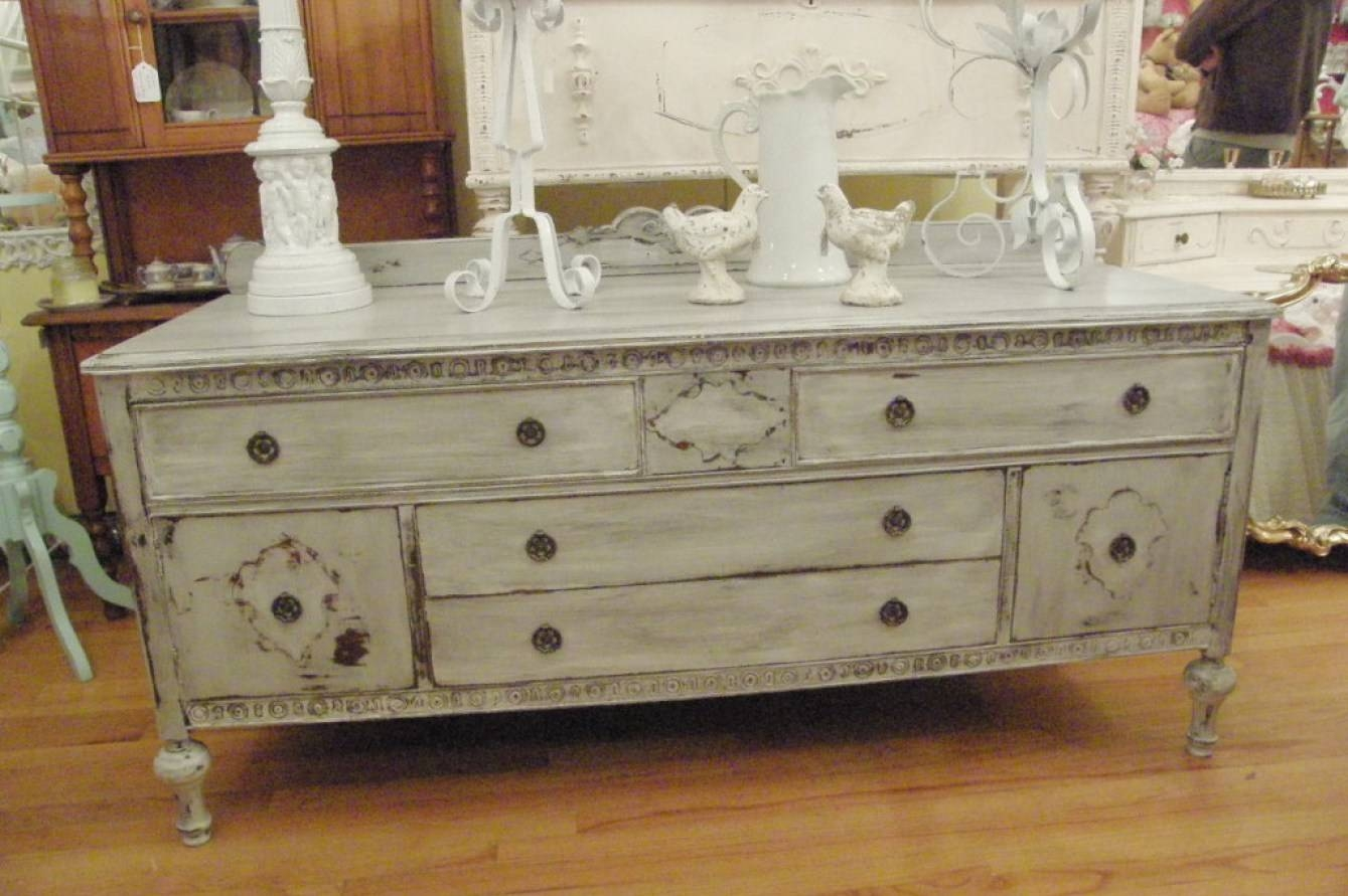 Sideboard : Antique Sideboards And Buffets Inspirational Of Pertaining To Vintage Sideboards (Photo 6 of 15)
