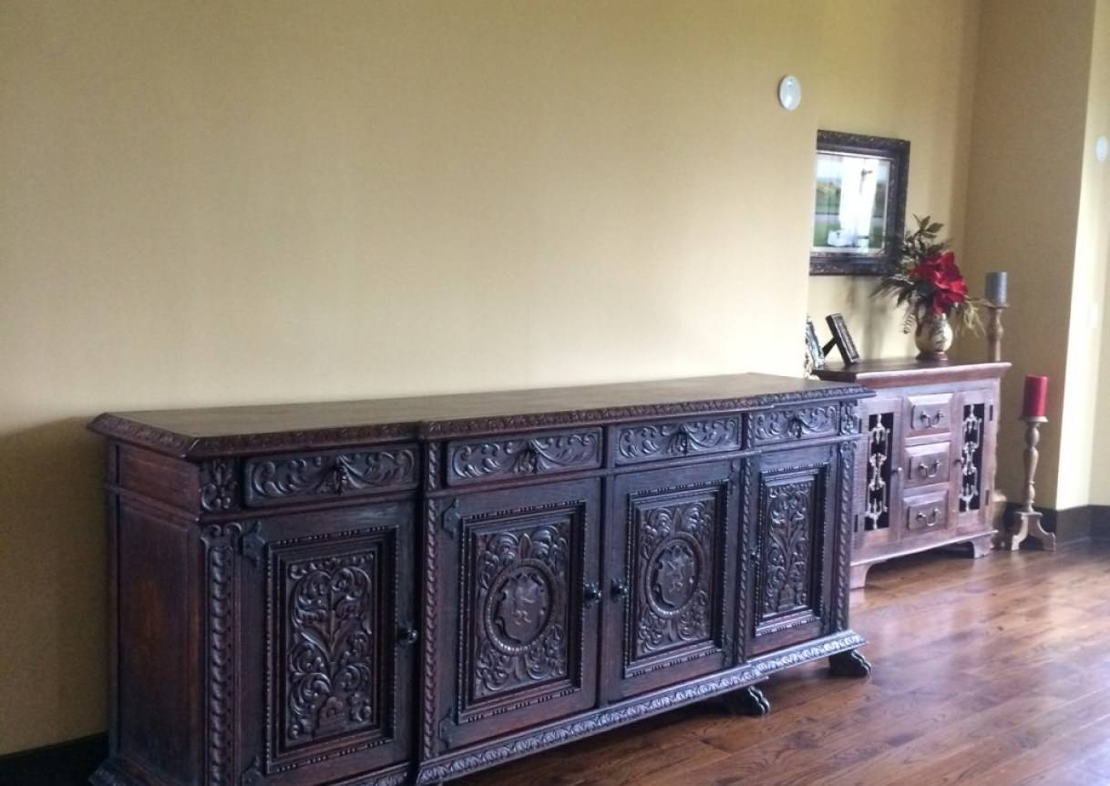 Sideboard : Antique Sideboards And Buffets Pictures Awesome With Cool Sideboards (View 12 of 15)