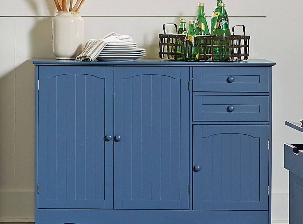 Sideboard : Beautiful French Sideboards And Buffets Antique For Blue Buffet Sideboards (View 8 of 15)