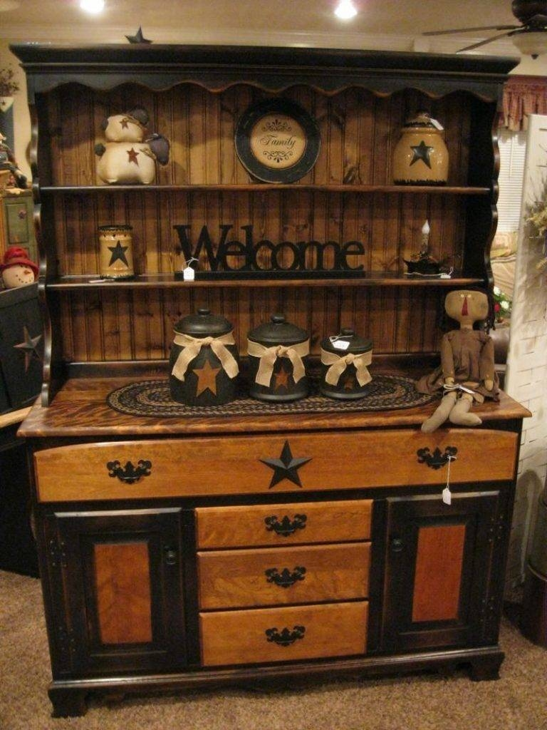 Sideboard Best 25 Rustic Hutch Ideas On Pinterest | Dining Hutch throughout Country Sideboards And Hutches (Image 6 of 15)