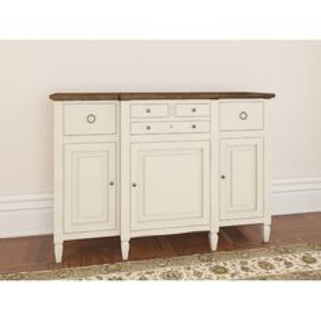 Sideboard Buffet Cabinet Sideboard Table Shallow Hall Depth French intended for Shallow Sideboards (Image 9 of 15)