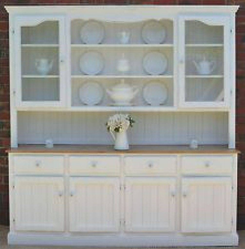 Sideboard Country Farmhouse French Provincial Buffet And Hutch pertaining to Country Sideboards And Hutches (Image 7 of 15)