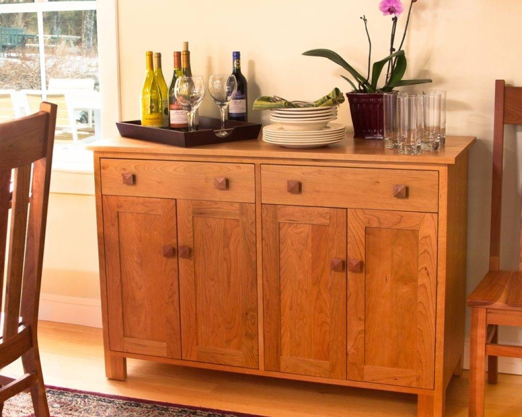 Sideboard Craftsman Furniture: An Investment You Can Appreciate Throughout Cherry Sideboards (View 13 of 15)