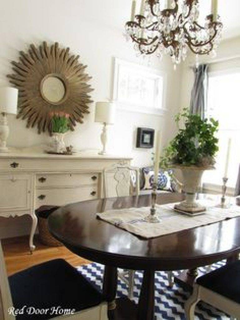Sideboard Dining Room Buffet #diy #beforeafter I Like Both! | Home with Mirror Over Sideboards (Image 9 of 15)