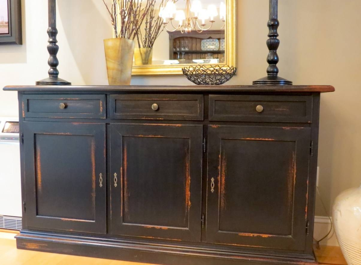 Sideboard : Excellent Dining Room Buffet Table For Popular With inside Green Sideboards (Image 5 of 15)