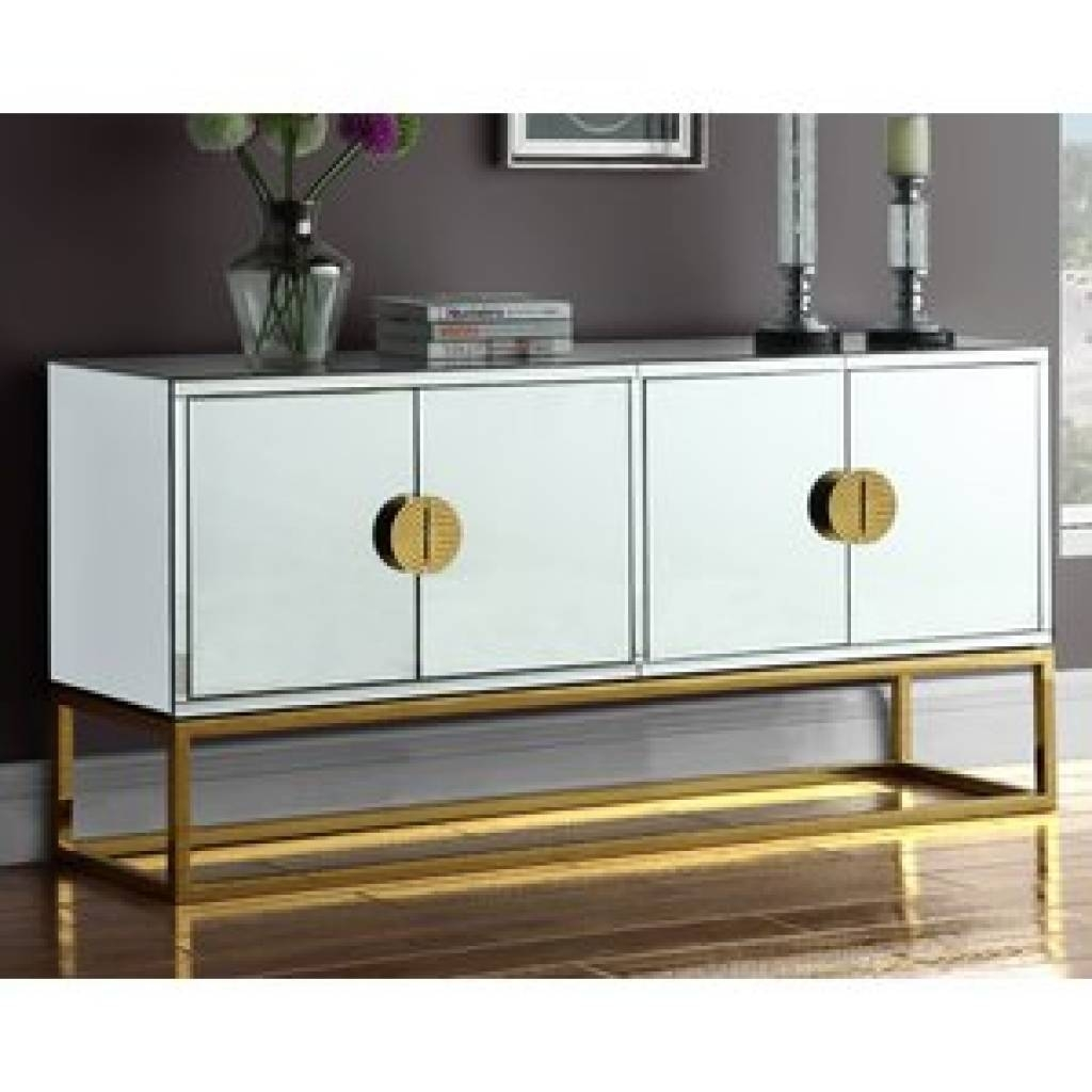 Sideboard Gold Sideboards & Buffets You'll Love | Wayfair Inside Regarding Gold Sideboards (View 9 of 15)