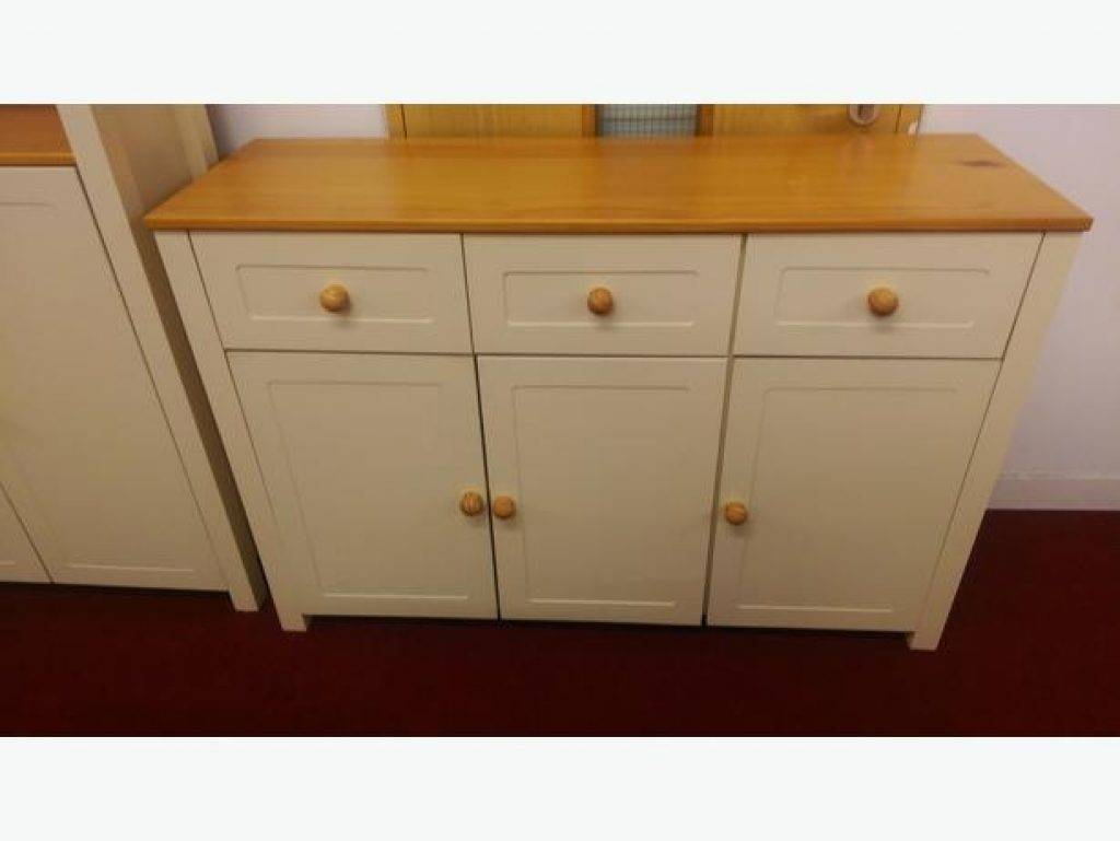 Sideboard Haversham 3 Door 3 Drawer Sideboard Antique Pine And inside Haversham Sideboards (Image 13 of 15)