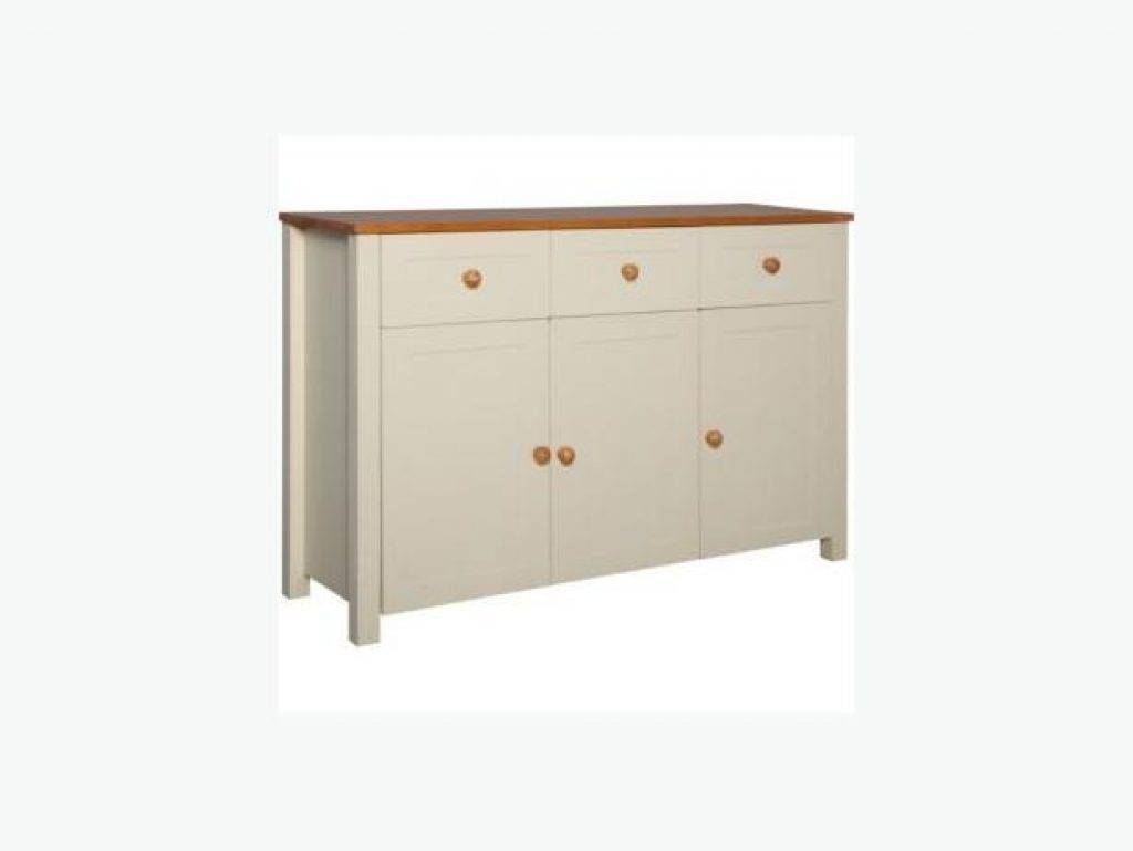Sideboard Haversham 3 Door 3 Drawer Sideboard Antique Pine And intended for Haversham Sideboards (Image 14 of 15)