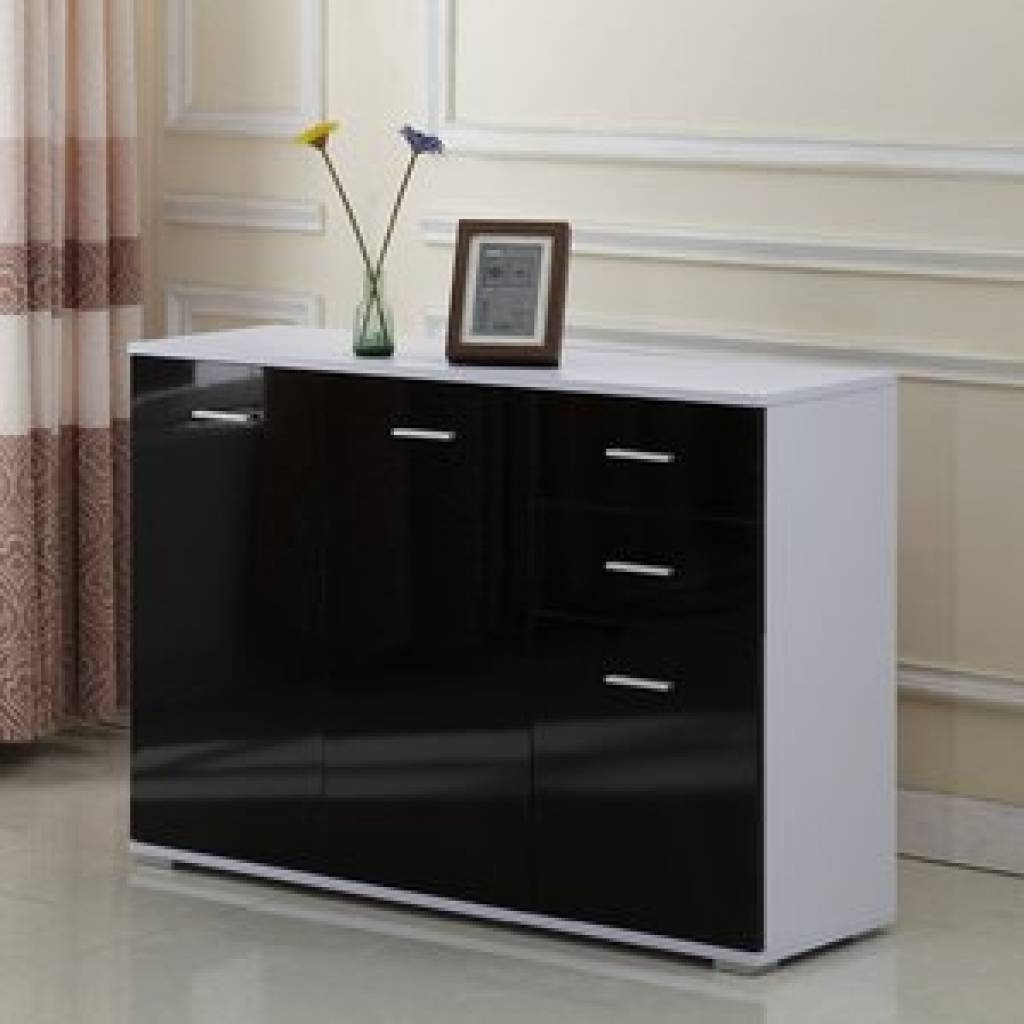 Sideboard High Gloss Sideboards | Wayfair.co.uk With Regard To with Uk Gloss Sideboards (Image 10 of 15)