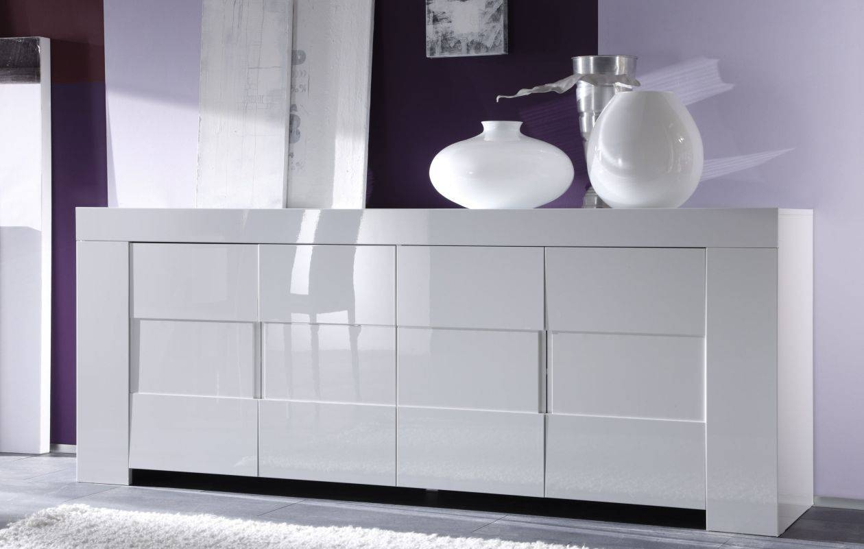 Sideboard : High Gloss White Sideboard Notable' Charismatic With Slim White Sideboards (View 9 of 15)