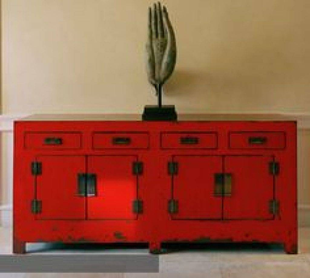 Sideboard Http://www.pinterest/joliesarts ∗ »☆Elysian Interiors throughout Red Sideboards Buffets (Image 11 of 15)