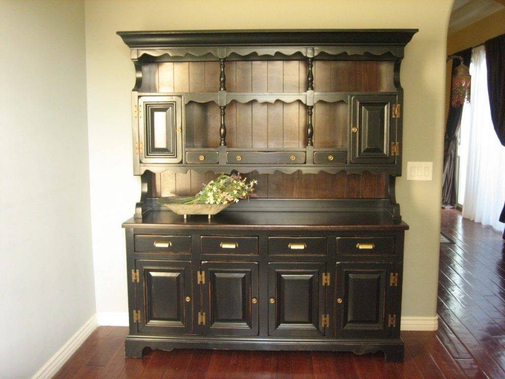 Sideboard Kitchen : Kitchen Hutch Bar Sideboard Buffet Hutch Small with regard to Country Sideboards And Hutches (Image 9 of 15)