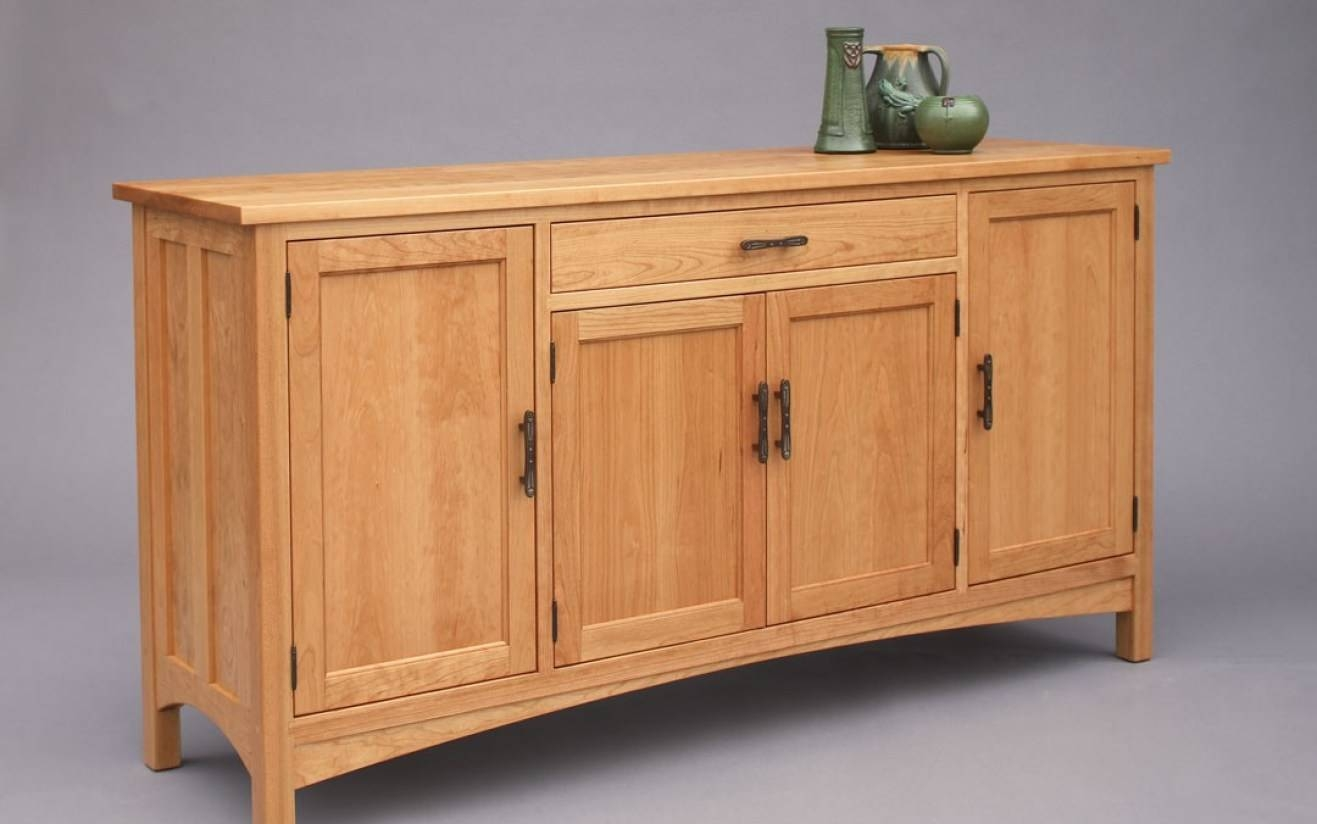 Sideboard : Maple Sideboard Exceptional' Delight Tiger Maple Pertaining To Maple Sideboards (View 2 of 15)