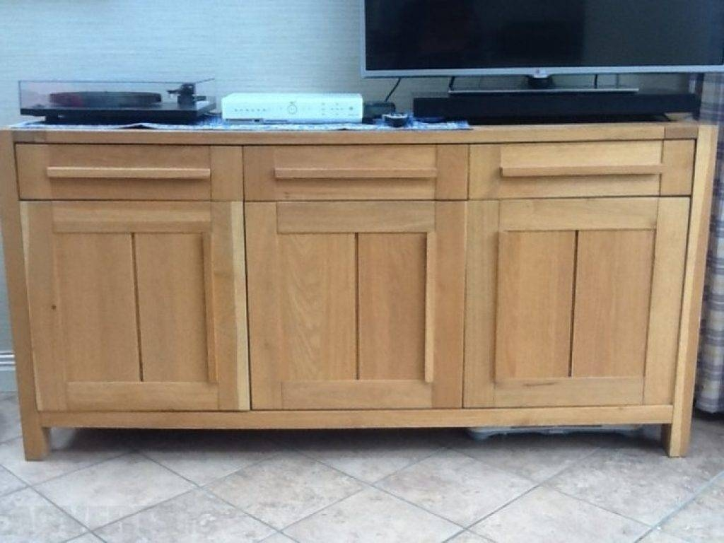 Sideboard Marks Spencer Sonoma 3 Door Sideboard For Sale In With Regard To Marks And Spencer Sideboards (View 14 of 15)