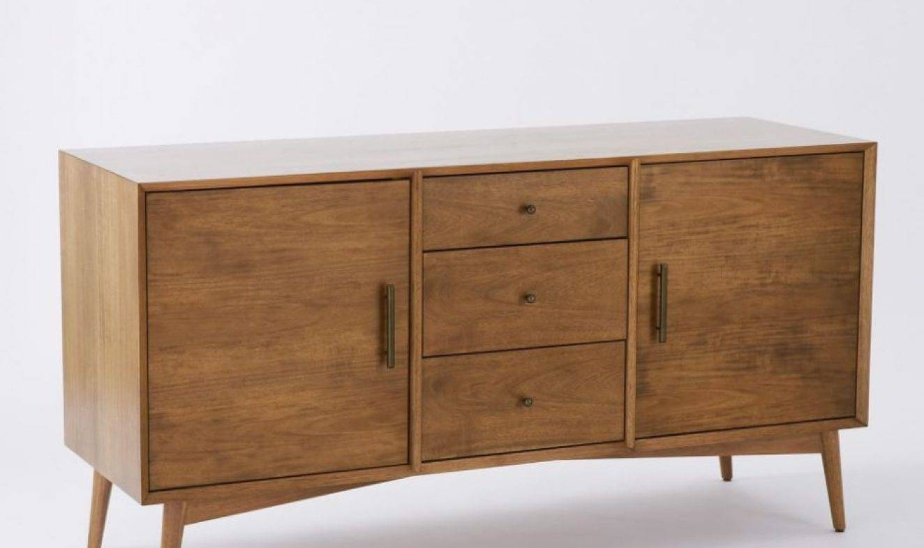 Sideboard : Media Nl Sideboard Console Table Mid Century Large in Thin White Sideboards (Image 11 of 15)