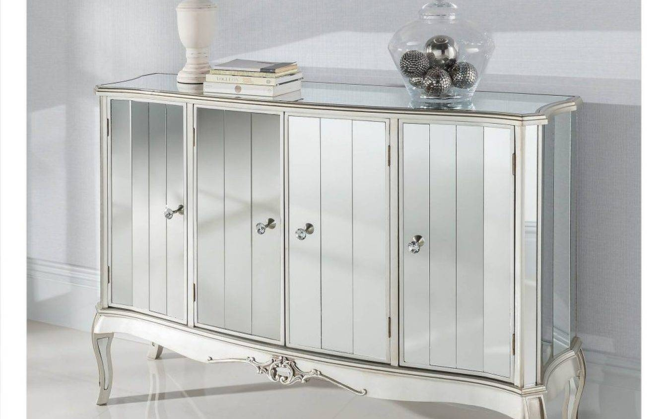 Sideboard : Mirrored Buffet Cabinet Home Design Elegant Sideboards throughout Elegant Sideboards (Image 13 of 15)