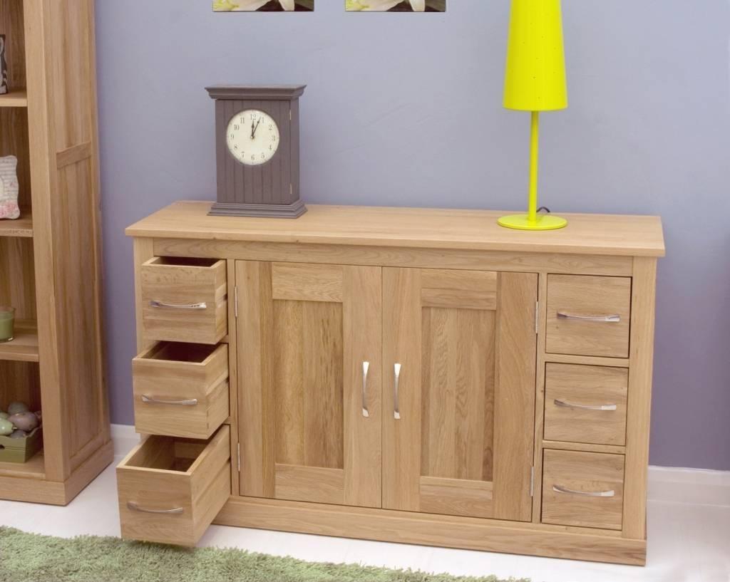 Sideboard Mobel Oak Sideboard With 6 Drawers Mobel Oak Pertaining Intended For Slim Oak Sideboards (View 5 of 15)