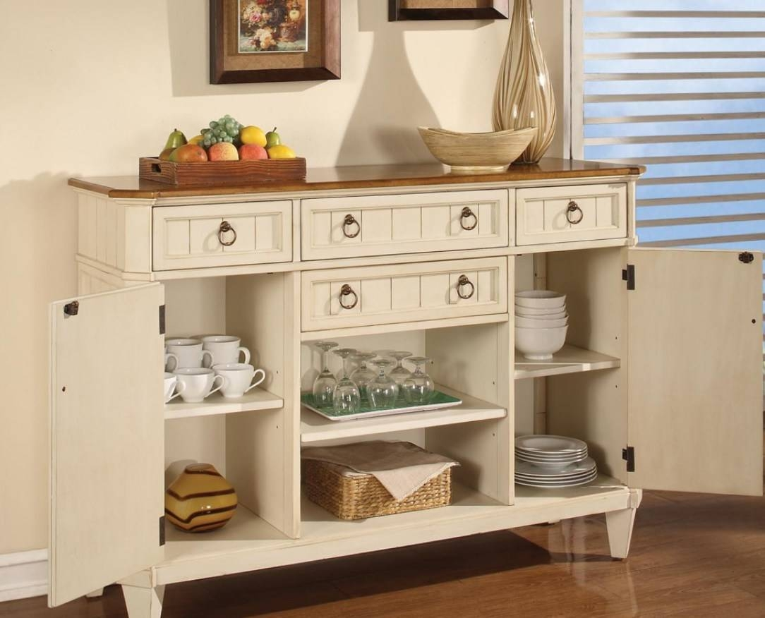 Sideboard : Modern Dining Room Hutch Beautiful Modern White Buffet Regarding White Buffet Sideboards (View 12 of 15)
