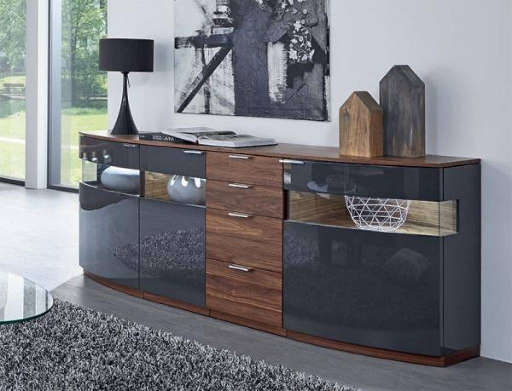 Sideboard Modern Sideboards   Contemporary Sideboards   Trendy Pertaining To Trendy Sideboards (View 4 of 15)