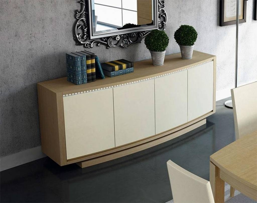 Sideboard Moveis Luisadas Intended For High Gloss Cream Sideboard for High Gloss Cream Sideboards (Image 12 of 15)