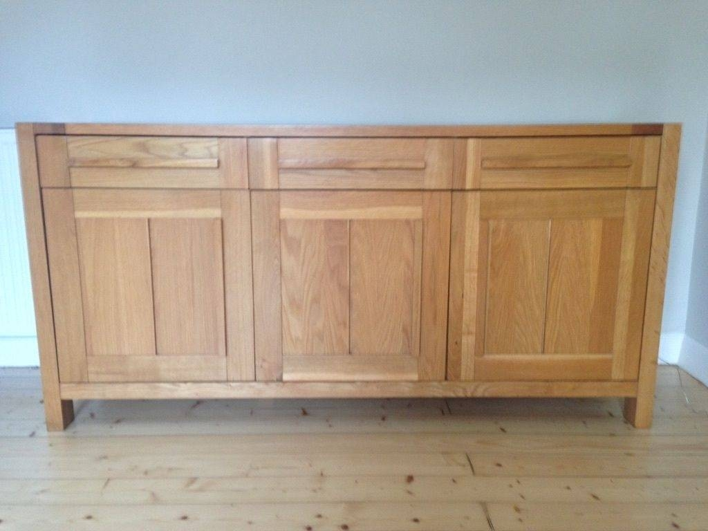 Sideboard M&s Sonoma Light 3 Door Sideboard Like New | In Inside Marks And Spencer Sideboards (View 9 of 15)