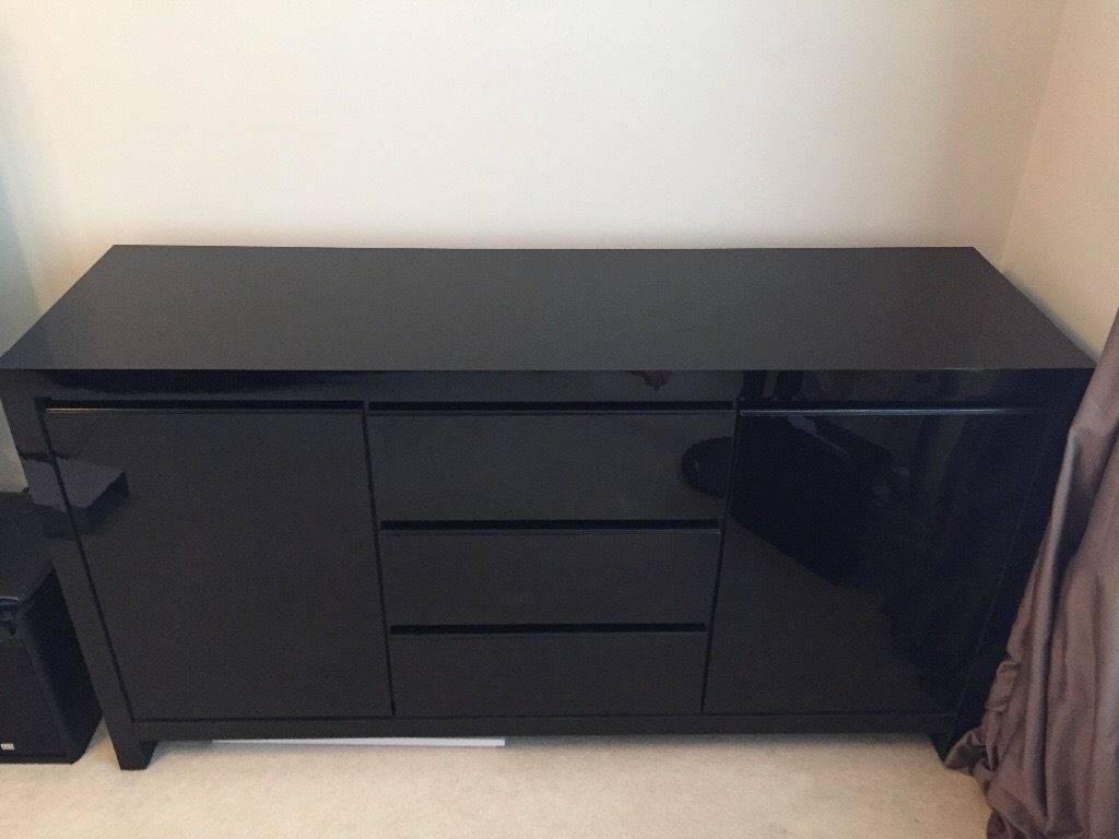 Featured Photo of Next Black Gloss Sideboards